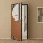 Отделка дверных откосов