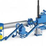 Линия гранулирования отходов производства