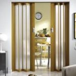 Межкомнатные двери «гармошка» экономят пространство, деньги и время, улучшают интерьер!