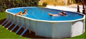 Как разобрать каркасный бассейн