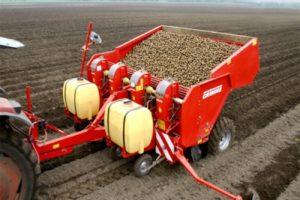 преимущества использования картофелесажалки