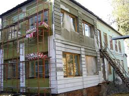 Утепление стен дома снаружи при помощи систем «мокрого» типа