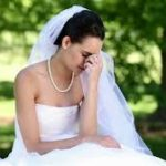 Что делать, чтобы избежать депрессии во время свадьбы